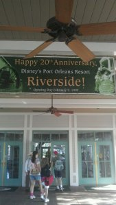 Main Entrance - Port Orleans - Riverside