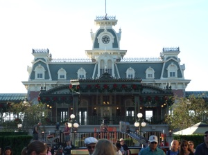 Train Station Christmas, Magic Kingdom