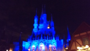 The backside of Cinderella Castle.  Needs Lights!