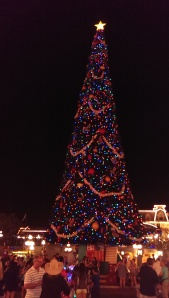 Town Square Christmas Tree Magic Kingdom Park