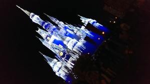 Lights make more magic at Cinderella's Castle