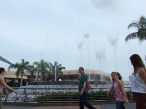 The Innoventions Fountain EPCOT