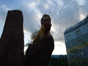Simba by Day! Art of Animation Resort