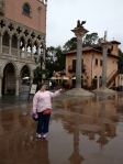 A wet Italy at EPCOT is better than a dry day anyplace else!
