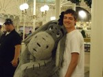 My son with Eeyore, His favorite!