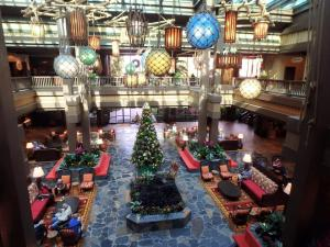 Polynesian Resort Village Lobby